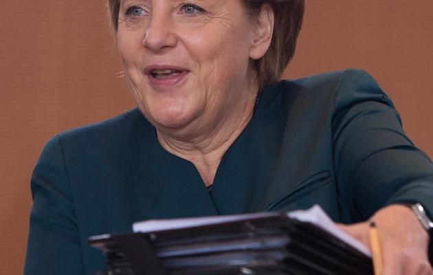 Angela Merkel le 22 mai 2013 à Berlin [Johannes Eisele / AFP/Archives]