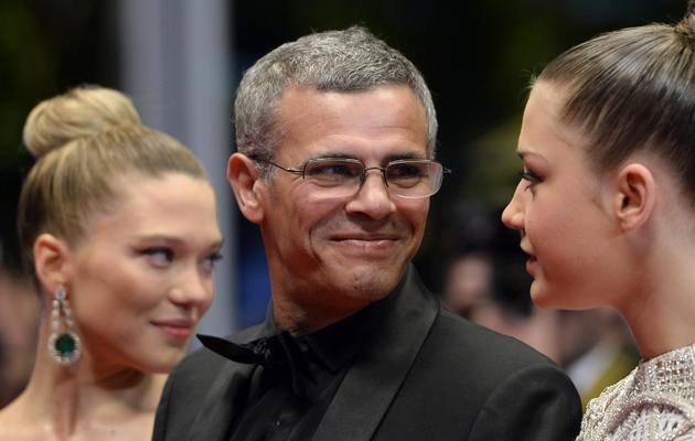 Abdellatif Kechiche le 23 mai 2013 à Cannes [Anne-Christine Poujoulat / AFP/Archives]