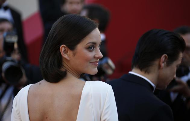 Marion Cotillard le 24 mai 2013 à Cannes [Valery Hache / AFP]