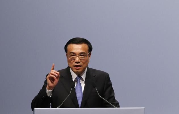 Le Premier ministre chinois, Li Keqiang, le 27 mai 2013 à Berlin [Tobias Schwarz / AFP]