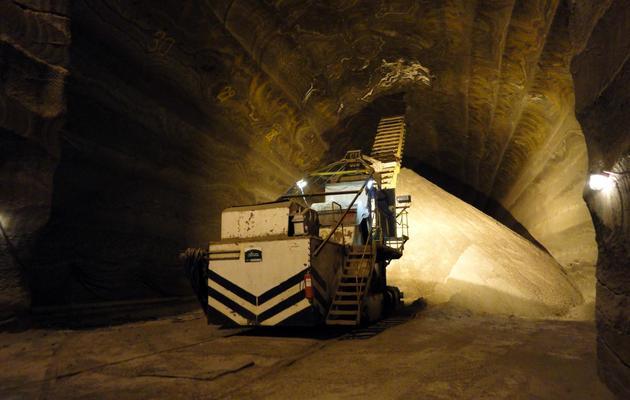 Mine de potasse à Berezniki, dans l'Oural, le 28 mai 2013 [Eleonore Dermy / AFP/Archives]