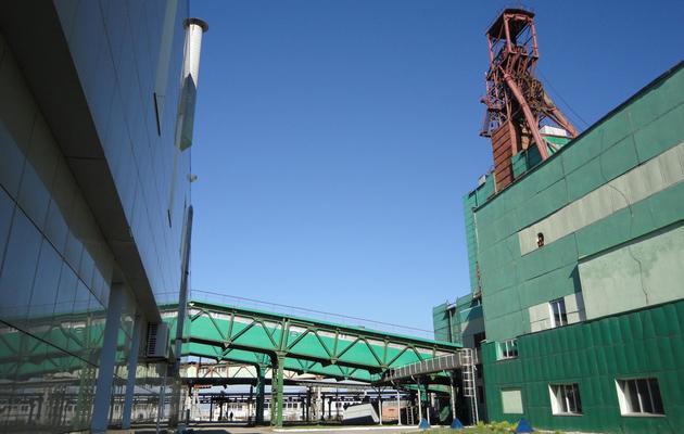 Vue de la mine de la société Uralkali, à Berezniki dans l'Oural, le 28 mai 2013 [Eleonore Dermy / AFP/Archives]