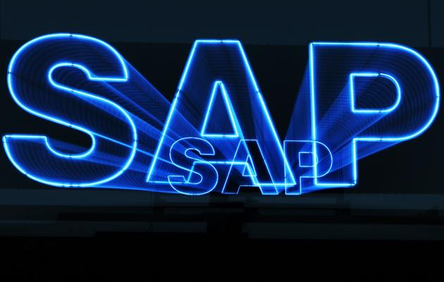 Logo de l'entreprise allemande SAP [Daniel Roland / AFP/Archives]