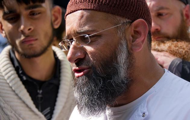 Le prêcheur radical Anjem Choudary le 6 mai 2011 à Londres [Leon Neal / AFP/Archives]