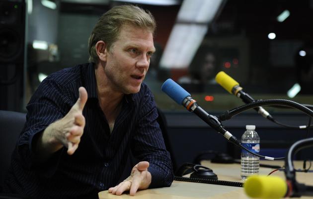 Hervé Ghesquière le 13 juillet 2011 lors d'une émission de France Inter à Paris [Miguel Medina / AFP/Archives]