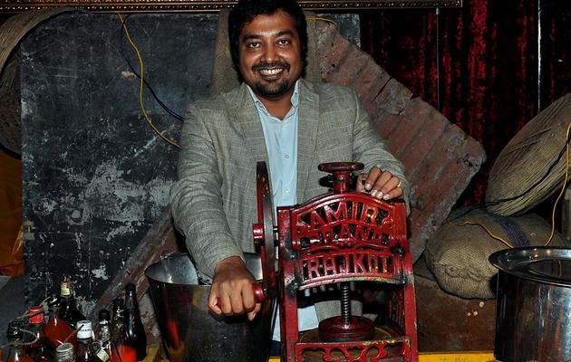 Le cinéaste indien Anurag Kashyap, le 28 novembre 2012 à Bombay [ / AFP/Archives]
