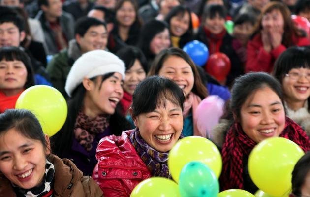 Des Chinoises dans la rue [ / AFP/Archives]