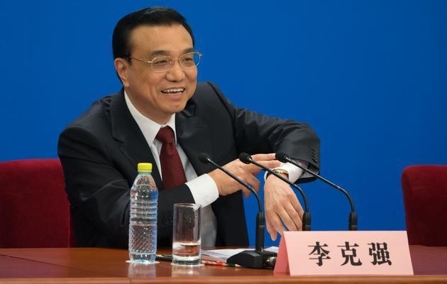 Le Premier ministre chinois, Li Keqiang, le 17 mars 2013 à Pékin [Ed Jones / AFP]