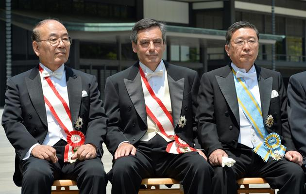 François Fillon le 9 mai 2013 à Tokyo [Yoshikazu Tsuno / AFP/Archives]