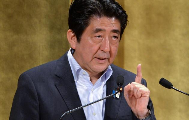 Shinzo Abe, le Premier ministre japonais, le 5 juin 2013 à Tokyo [Yoshikazu Tsuno / AFP]