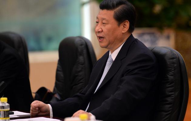 Le président chinois Xi Jinping, le 14 juin 2013 à Pékin [Goh Chai Hin / AFP]