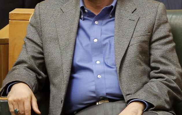 Esfandiar Rahim Mashaïe, le 14 avril 2009 à Téhéran [Behrouz Mehri / AFP/Archives]