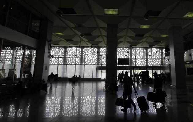 L'aéroport de Damas, le 15 mai 2013 [Joseph Eid / AFP]