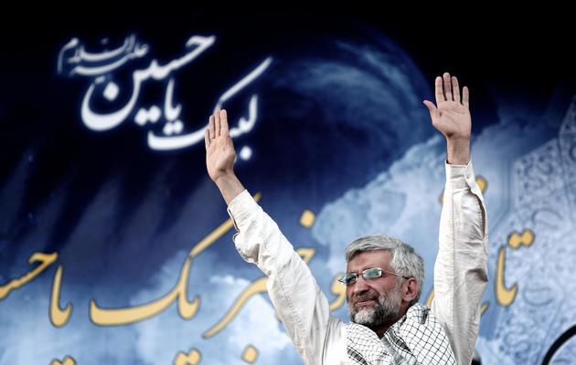 Saïd Jalili, candidat à la présidentielle, le 12 juin 2013 [Behrouz Mehri / AFP]
