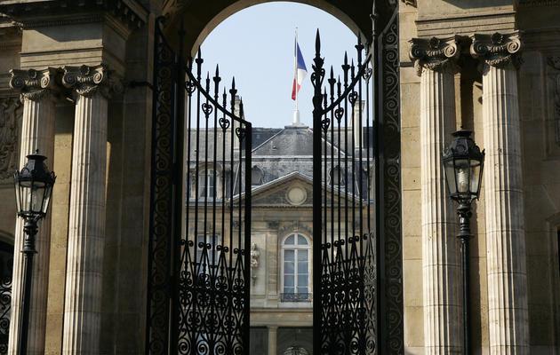 Vue de l'entrée du palais de l'Elysée en date du 11 avril 2007 [Patrick Kovarik / AFP/Archives]
