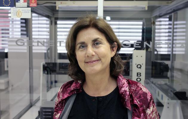 Marion Guillou, alors PDG de l'INRA, est photographiée à Auzeville, près de Toulouse, le 7 septembre 2007 [Lionel Bonaventure / AFP/Archives]