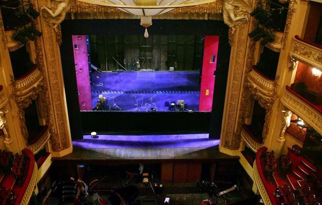Photo prise le 3 décembre 2007 de la salle principale de l'Opéra Comique, à Paris [Loic Venance / AFP/Archives]
