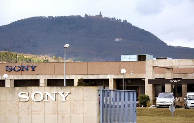 Vue prise le 17 janvier 2008 du site du groupe japonais d'électronique Sony de Ribeauvillé [Olivier Morin / AFP/Archives]