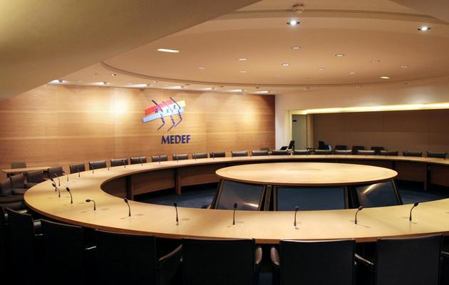 Le siège du Medef à Paris, le 18 mars 2009 [Jacques Demarthon / AFP/Archives]