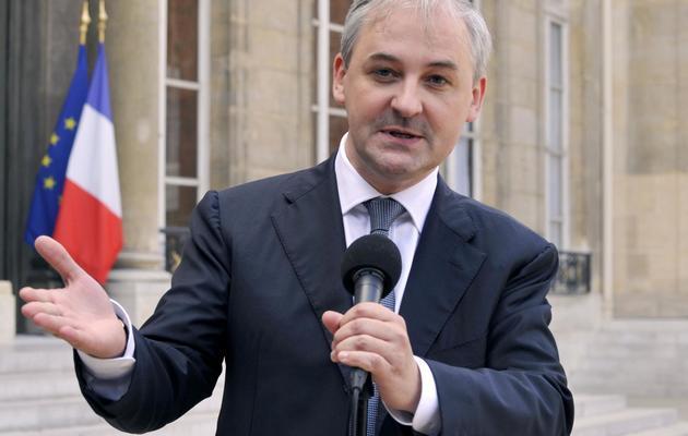 François Pérol le 1er octobre 2009 à l'Elysée [Gerard Cerles / AFP/Archives]