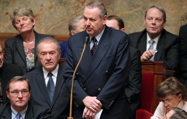 Le député PS Dominique Raimbourg le 22 décembre 2009 à l'Assemblée nationale à Paris [Pierre Verdy / AFP/Archives]