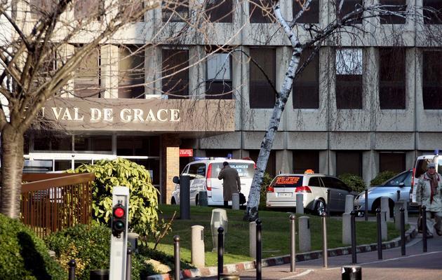 L'entrée de l'l'hôpital militaire du Val-de-Grâce le 5 janvier 2010 à Paris [Thomas Coex / AFP/Archives]
