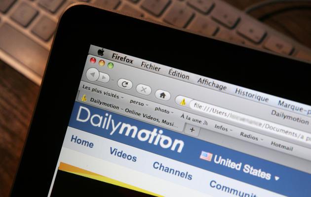 Une page internet du site français de vidéos Dailymotion [Loic Venance / AFP/Archives]