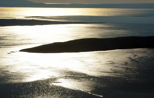 Coucher de soleil sur des îles croates en mer Adriatique [Hrvoje Polan / AFP/Archives]