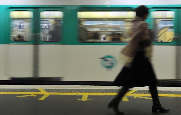 Une rame de métro de la RATP [Miguel Medina / AFP/Archives]