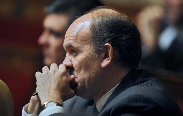 Daniel Fasquelle, député UMP du Pas-de-Calais et professeur des universités, à l'Assemblée nationale, le 24 novembre 2010 [Lionel Bonaventure / AFP/Archives]