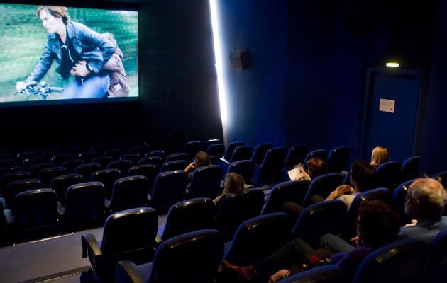 Des spectateurs dans un cinéma parisien [Loic Venance / AFP/Archives]