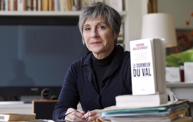 Fabienne Boulin-Burgeat, la fille de Robert Boulin, le 25 janvier 2011 à Paris [Patrick Kovarik / AFP/Archives]