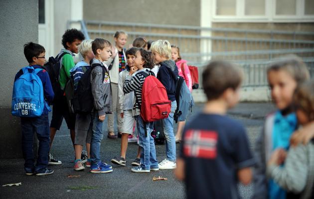 Des enfants dans une cour d'école [Frank Perry / AFP/Archives]