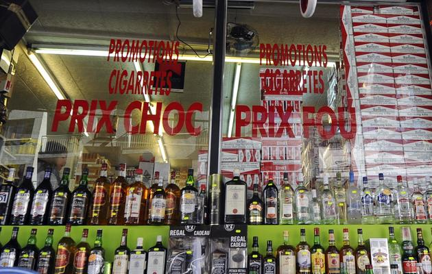 Un magasin de tabac et d'alcool à Andorre, le 17 octobre 2011 [Eric Cabanis / AFP/Archives]