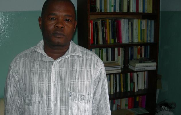 L'unique député de l'opposition équato-guinéenne Placido Mico, le 28 octobre 2011 à Malabo [Patrick Fort / AFP/Archives]