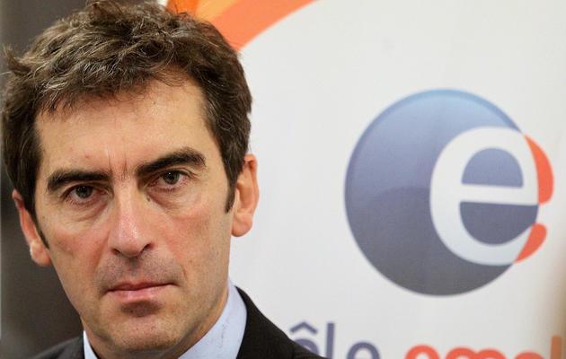 Jean Basseres, directeur général de Pôle emploi, le 27 décembre 2011 à Reims [Francois Nascimbeni / AFP/Archives]