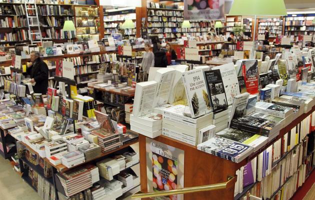 La librairie parisienne La Procure, le 7 février 2012 [Francois Guillot / AFP/Archives]