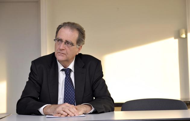 Le procureur de la République de Nanterre Robert Gelli, le 27 février 2012 à Nîmes (sud) [Sylvain Thomas / AFP/Archives]