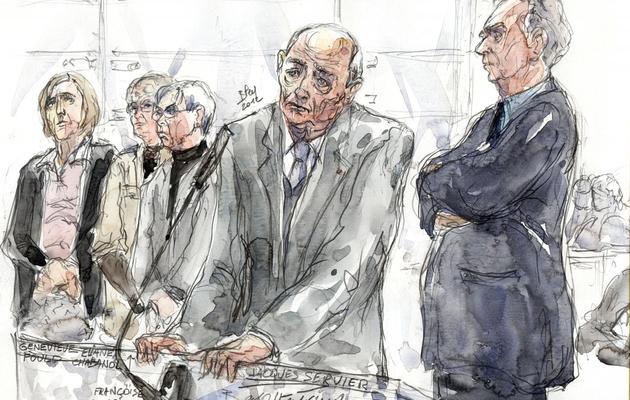 Jacques Servier, fondateur des laboratoires Servier, le 14 mai 2012 au tribunal de Nanterre [Benoit Peyrucq / AFP/Archives]