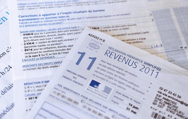 Une déclaration d'impôts [Alain Jocard / AFP/Archives]