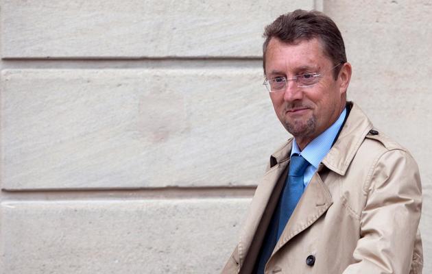 Le directeur général de la sécurité extérieure (DGSE), Bernard Bajolet, le 7 juin 2012 à Paris [Bertrand Langlois / AFP]