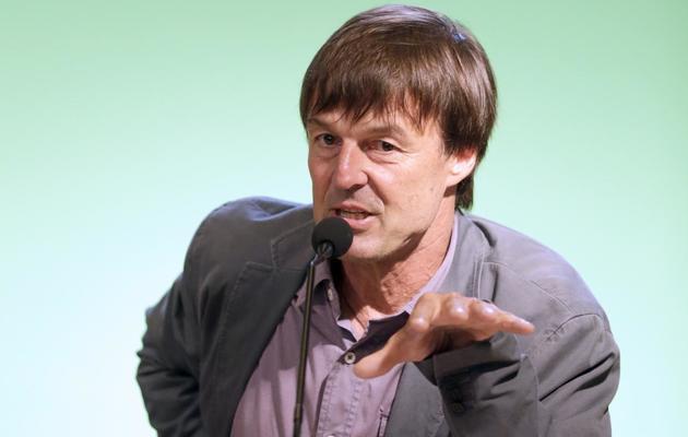 Nicolas Hulot donne une conférence de presse, le 27 juin 2012 à Paris [Kenzo Tribouillard / AFP/Archives]
