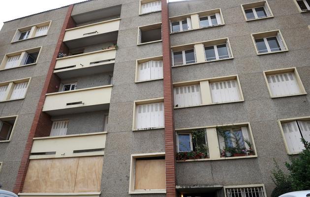 L'ancien appartement de Mohamed Merah dans lequel il s'était retranché, photographié le 1er août 2012 à Toulouse [Remy Gabalda / AFP/Archives]