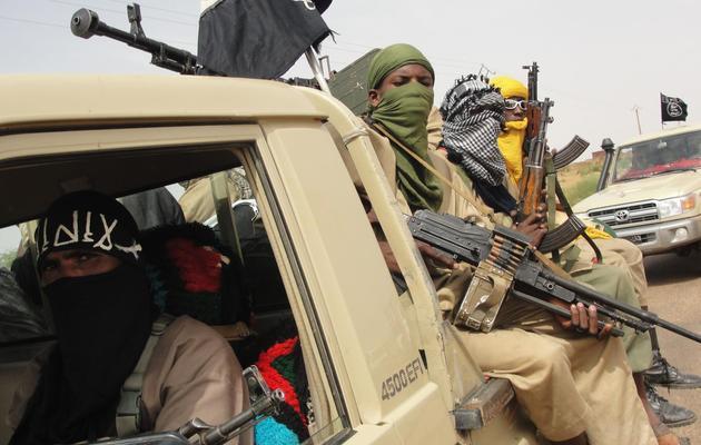 Des islamistes dans le nord du Mali, en août 2012 [Romaric Hien / AFP/Archives]