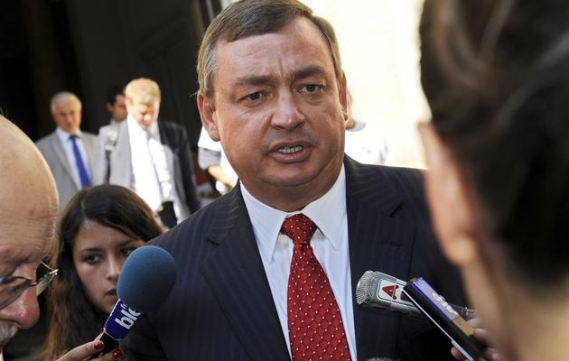 Le vice-président de Ford Europe, Jeff Wood, le 7 septembre 2012 à Bordeaux [Jean Pierre Muller / AFP/Archives]