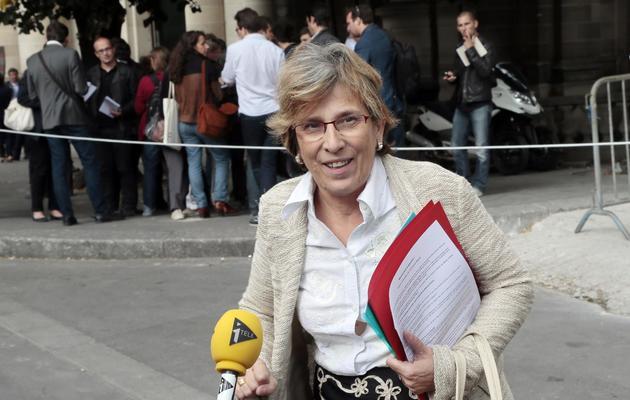 Marie-Noelle Lienemann le 12 septembre 2012 à Nantes [Jacques Demarthon / AFP/Archives]