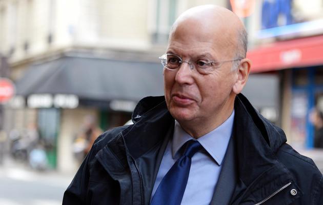 Patrick Buisson, ancien conseiller de Nicolas Sarkozy, à Paris, le 15 octobre 2012 [Miguel Medina / AFP/Archives]