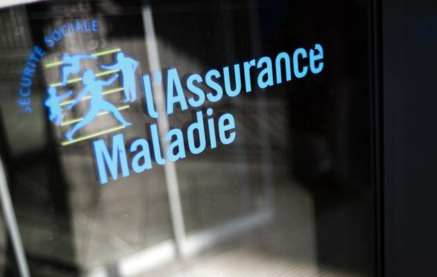 Le logo de l'Assurance Maladie, le 23 octobre 2012 à Paris [Fred Dufour / AFP/Archives]