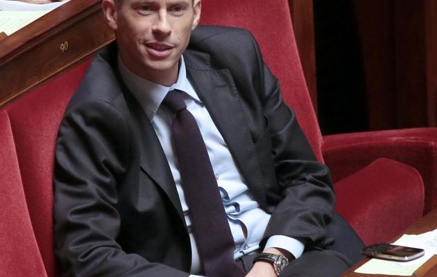 Le député UMP Franck Riester à l'Assemblée nationale, le 24 octobre 2012 [Jacques Demarthon / AFP/Archives]