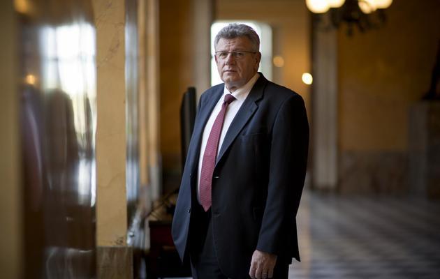 Le rapporteur général du Budget, Christian Eckert, le 25 octobre 2012 à l'Assemblée nationale à Paris [Martin Bureau / AFP/Archives]